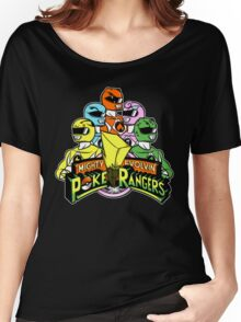 Poke Rangers Women's Relaxed Fit T-Shirt