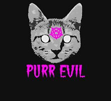 Purr Evil Womens Fitted T-Shirt