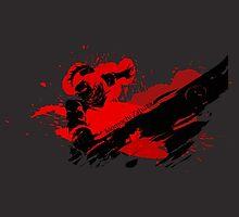 Grunge Swordsman by Anuktoy