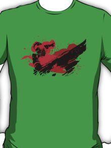 Grunge Swordsman T-Shirt