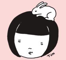 Bunnygirl (B&W) by tambatoys