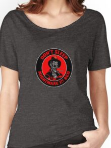 NIGHTMARE IN BED Women's Relaxed Fit T-Shirt