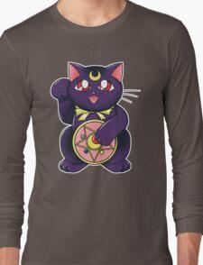 Lucky Lunar Cat Long Sleeve T-Shirt