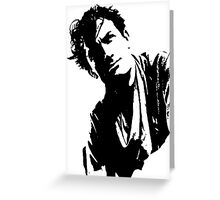 Gregory Peck Has Wild Hair Greeting Card