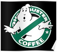 Ghostbusters Coffee Poster