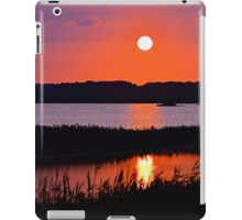 Sunset Over The Wetlands iPad Case/Skin
