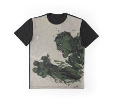 Strong Green Hulk Graphic T-Shirt