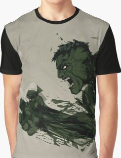 Strong Green Hulk Graphic T-Shirt