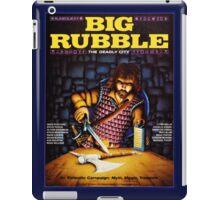 Big Rubble cover iPad Case/Skin