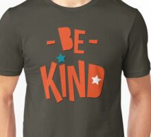 Be Kind Be Cool - Cute Nursery Typography Design T shirt for Kids and Adults Unisex T-Shirt