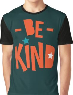 Be Kind Be Cool - Cute Nursery Typography Design T shirt for Kids and Adults Graphic T-Shirt