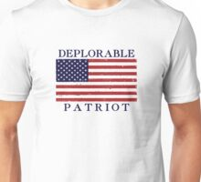 Deplorable Patriot Blue Unisex T-Shirt