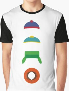 Minimalist cool south park design Graphic T-Shirt