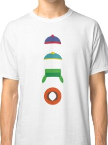 Minimalist cool south park design Classic T-Shirt