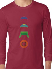 Minimalist cool south park design Long Sleeve T-Shirt
