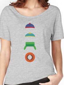Minimalist cool south park design Women's Relaxed Fit T-Shirt