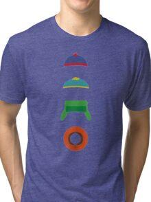 Minimalist cool south park design Tri-blend T-Shirt