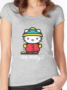 Carmen Hello Kitty Pot Pie Women's Fitted Scoop T-Shirt