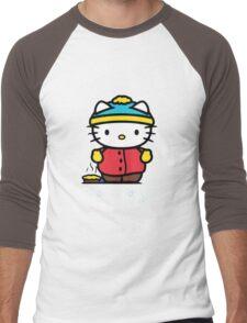 Carmen Hello Kitty Pot Pie Men's Baseball ¾ T-Shirt