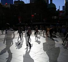 Take 3 Double Exposure at George & Park Street, Sydney by Jade CADELINA