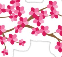 Cherry Blossom Flowers Sticker