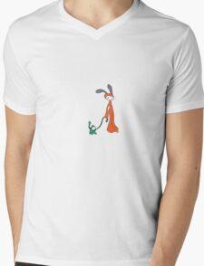 Come along (for Black) Mens V-Neck T-Shirt