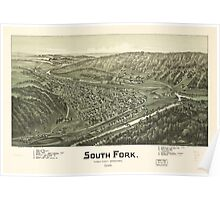 South Fork, Cambria County, Pennsylvania (1900) Poster