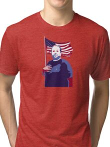 The Hugh-Mungus American Tri-blend T-Shirt