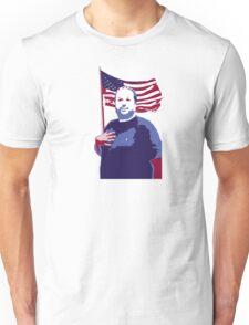 The Hugh-Mungus American Unisex T-Shirt