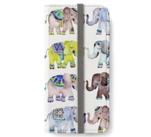 Elephant Collection – Cool Palette iPhone Wallet/Case/Skin