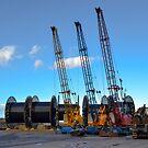 Buckie Harbour by mfsutherland