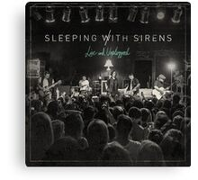Sleeping With Sirens - Live and Unplugged 2016 Canvas Print
