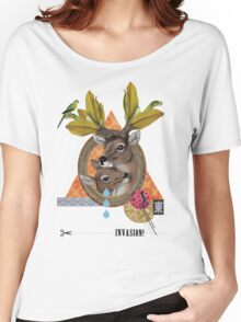 Animal Collection -- Oh Deer Women's Relaxed Fit T-Shirt