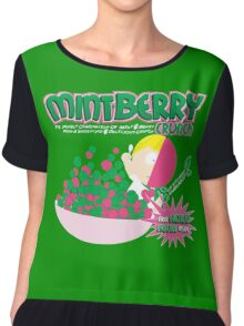 Mint Berry Crunch South Park Chiffon Top
