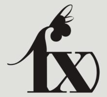 f(x) - Black Logo by madiamondring