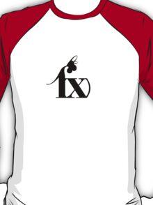 f(x) - Black Logo T-Shirt