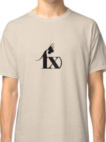 f(x) - Black Logo Classic T-Shirt