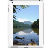 Mountainside Lake iPad Case/Skin