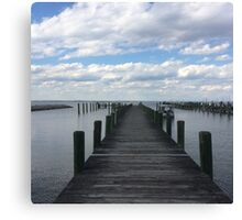 Eastern Shore Clouds Canvas Print