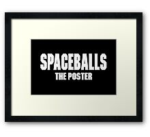 Spaceballs Branded Items Framed Print