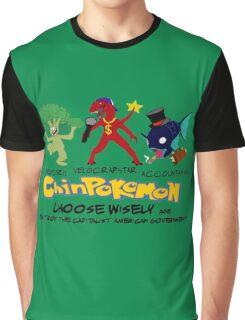 ChinPokemon South park Graphic T-Shirt