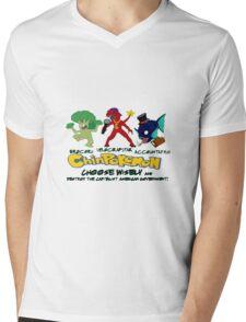 ChinPokemon South park Mens V-Neck T-Shirt