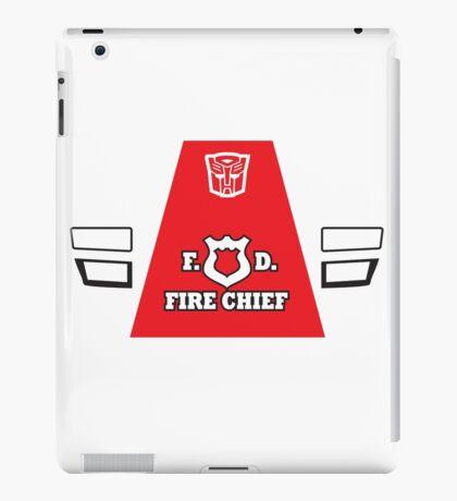 Red Alert - Transformers 80s iPad Case/Skin