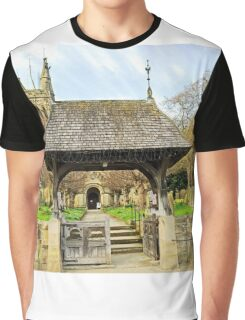 Lych Gate to All Saints Church, Helmsley Graphic T-Shirt