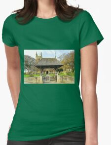 Lych Gate to All Saints Church, Helmsley Womens Fitted T-Shirt