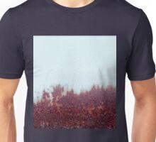 Misty Morning, Autumn Forest. Unisex T-Shirt