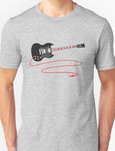 Solid Guitar - Black T-Shirt