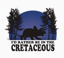 I'd Rather be in the Cretaceous Kids Tee