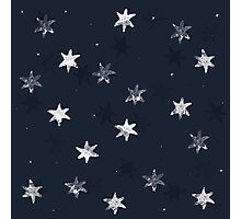 Stamped Star Photographic Print