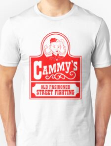 Cammy's Old Fashioned Street Fighting RED STENCIL Unisex T-Shirt